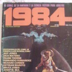 Cómics: 1984 Nº 36 CON BEA-CORBEN-FERNANDO FERNANEZ-FONT-MAROTO. Lote 171752809