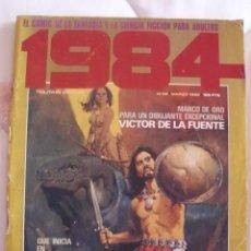 Cómics: 1984 Nº 38 CON CORBEN-VICTOR DE LA FUENTE-L.ROYO-FONT. Lote 171753193