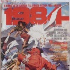 Cómics: 1984 Nº 63 CON JOAN BOIX-JAIME BROCAL-FERNANDO FERNANDEZ-HORACIO ALTUNA. Lote 37271816