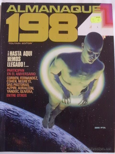 1984 ALMANAQUE1984 (Tebeos y Comics - Toutain - 1984)