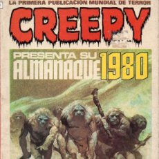 Cómics: ALMANAQUES CREEPY TOUTAIN AÑOS 1980/81/82/83/84/85. Lote 37284957