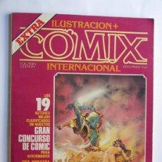 Cómics: EXTRA ILUSTRACION + COMIX INTERNACIONAL. Lote 37398278