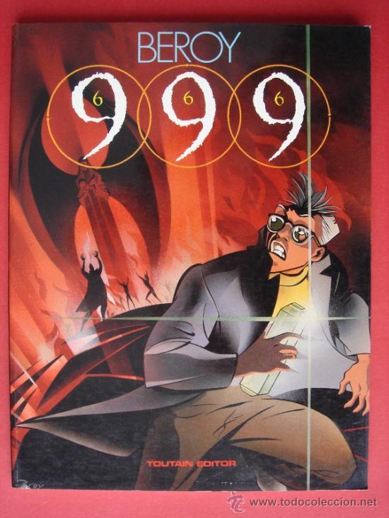 999 (666), AUTOR, BEROY. TOUTAIN EDITOR AÑO 1988. VER FOTOS. (Tebeos y Comics - Toutain - Álbumes)