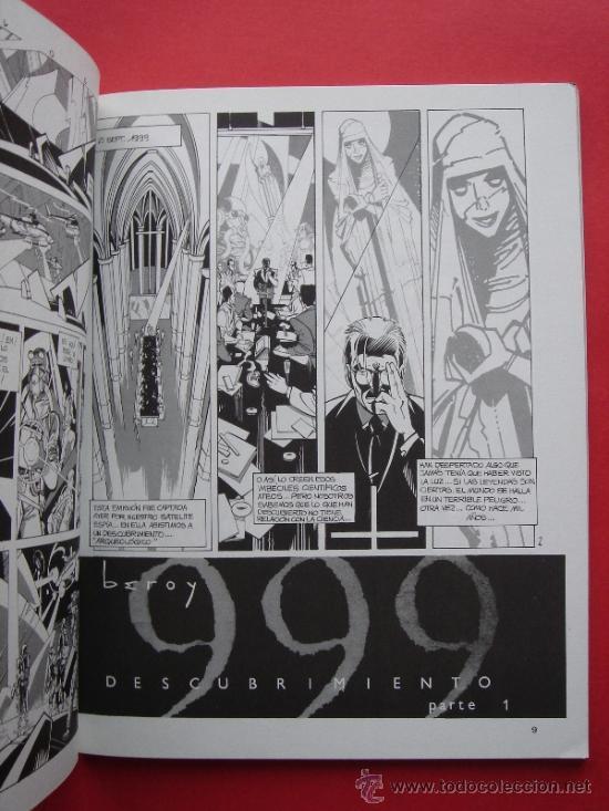 Cómics: 999 (666), AUTOR, BEROY. TOUTAIN EDITOR AÑO 1988. VER FOTOS. - Foto 2 - 37481449