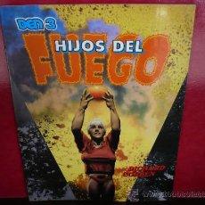 Cómics: HIJOS DEL FUEGO. DEN 3. RICHARD CORBEN. TOUTAIN EDITOR.. Lote 37666045