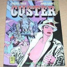 Cómics: CUSTER. JORDI BERNET.. Lote 37815398
