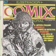 Comics: ILUSTRACION + COMIX INTERNACIONAL Nº 67 - SOLANO LOPEZ, C. GIMENEZ, WRIGHTSON, BRECCIA, EISNER . Lote 38129192