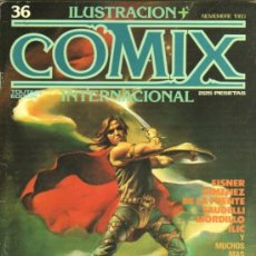 Comics: ILUSTRACION + COMIX INTERNACIONAL Nº 36 - WILL EISNER,FRANCO SAUDELLI,RAMN DE LA FUENTE,RIBOLDI. Lote 38226979