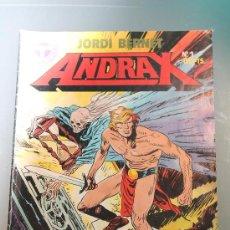 Cómics: ANDRAX 1 TOUTAIN EDITOR. Lote 38288772