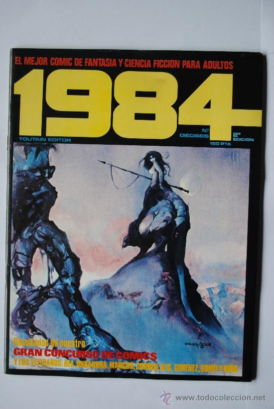 COMIC 1984. Nº 16. EDICIONES TOUTAIN (Tebeos y Comics - Toutain - 1984)
