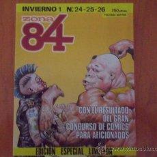 Comics : ZONA 84 - RETAPADO CON LOS NºS 24,25 Y 26 - EDICION ESPECIAL LIMITADA. Lote 38404996