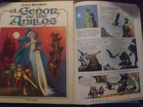 EL SEÑOR DE LOS ANILLOS - PRIMER ALBUM - J.R.R. TOLKIEN - LORD OF THE RINGS (Tebeos y Comics - Toutain - Otros)