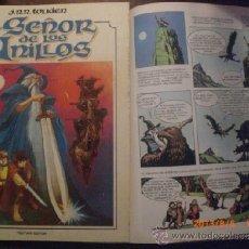 Comics: EL SEÑOR DE LOS ANILLOS - PRIMER ALBUM - J.R.R. TOLKIEN - LORD OF THE RINGS. Lote 98695198