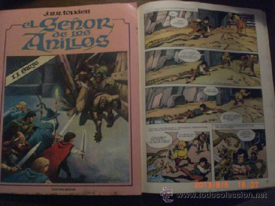 EL SEÑOR DE LOS ANILLOS - SEGUNDA PARTE - J.R.R. TOLKIEN - LORD OF THE RINGS (Tebeos y Comics - Toutain - Otros)