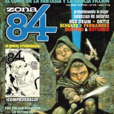 Cómics: ZONA 84 Nº 79 - ED. TOUTAIN. Lote 39619180