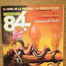 Cómics: ZONA 84 Nº 34 - OCTAVA EDICIÓN PREMIOS DEL CÓMIC. Lote 39131591