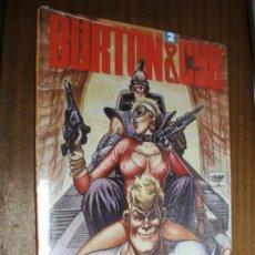 Cómics: BURTON & CYB Nº2 / ANTONIO SEGURA - JOSÉ ORTIZ / TOUTAIN EDITOR. Lote 39166452