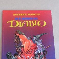 Cómics: ESTEBAN MAROTO - EN EL NOMBRE DEL DIABLO - TOUTAIN ED. AÑO 1991, COLOR - MUY BUEN ESTADO. Lote 39170949