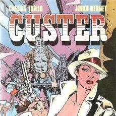 Cómics: CUSTER- JORDI BERNET-CARLOS TRILLO- TOUTAIN EDITOR-1987- 0892. Lote 109445587