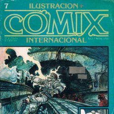 Cómics: COMIX INTERNATIONAL. Nº 7. TOUTAIN EDITOR, 150 PTAS. 1ª EDICION 1980. 84 PAGS. ENKI BILAL. Lote 39265224