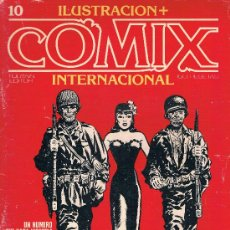 Cómics: COMIX INTERNATIONAL. Nº 10. TOUTAIN EDITOR, 150 PTAS. 1ª EDICION 1980. 84 PAGS. MISS LACE DE CANIFF. Lote 39265249