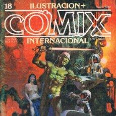Cómics: COMIX INTERNATIONAL. Nº 18. TOUTAIN EDITOR, 175 PTAS. 1ª EDICION 1981. 84 PAGS. PORTADA PEÑALVA. Lote 39265293