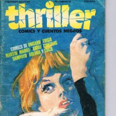 Cómics: THRILLER. Nº 2. 175 PTS. 66 PAGS. TOUTAIN EDITOR. AÑO 1984. . BASTANTE DIFICIL. Lote 39265832