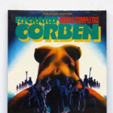 Cómics: OBRAS COMPLETAS DE RICHARD CORBEN Nº 3: UNDERGROUND. NUEVO,SIN ABRIR.. Lote 207123630