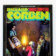 Comics : OBRAS COMPLETAS DE RICHARD CORBEN Nº 4: EDGAR ALLAN POE. NUEVO,SIN ABRIR.. Lote 227589540