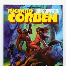Cómics: OBRAS COMPLETAS DE RICHARD CORBEN Nº 11: UNDERGROUND TODAVIA NUEVO,SIN ABRIR.. Lote 207123442