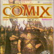 Cómics: ILUSTRACION COMIX INTERNACIONAL Nº 39 TOUTAIN EDITOR 1984 EDICION LIMITADA PARA COLECCIONISTAS. Lote 39341570