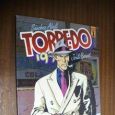 Cómics: TORPEDO 1936 / TOMO 1 / SÁNCHEZ ABULI - JORDI BERNET / TOUTAIN EDITOR 1988. Lote 39506288