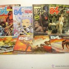 Cómics: LOTE 9 COMICS ZONA 84 ESPECIAL CONCURSO 1986-1987-1988 + Nº 48-56-58-70-73-81 TOUTAIN. Lote 39676559