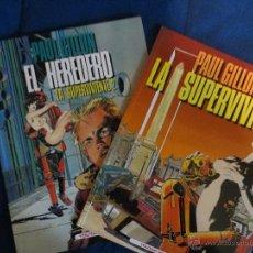 Fumetti: LA SUPERVIVIENTE. 2 ALBUMS TOUTAIN. PAUL GUILLON.. Lote 39802286