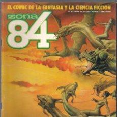 Cómics: ZONA 84 Nº 57 - TOUTAIN EDITOR. 1984. Lote 39867945