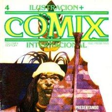 Cómics: COMIX INTERNACIONAL Nº 4 EDICIONES TOUTAIN 1980. Lote 81571862