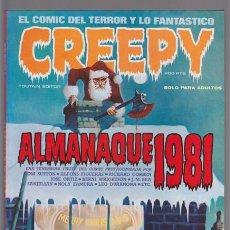 Fumetti: CREEPY ALMANAQUE 1981, TOUTAIN. TOM SUTTON, ALFONS FIGUERES, RICHARD CORBEN, BERNI WRIGHTSON, JOSE O. Lote 39995959