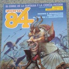 Fumetti: ZONA 84 -- ANTOLOGIA Nº 6 -- NºS 17-18-19 --. Lote 40063891