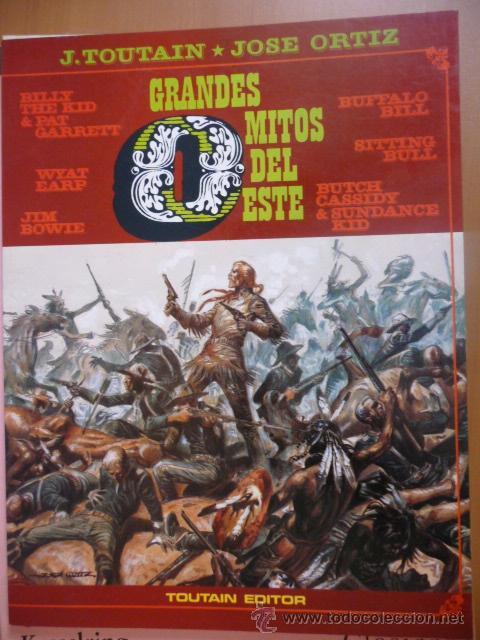 GRANDES MITOS DEL OESTE. TOMO 2. TOUTAIN. (Tebeos y Comics - Toutain - Álbumes)