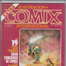 Cómics: COMIX INTERNACIONAL - EXTRA ILUSTRACION + - TOUTAIN 1983. Lote 40442333