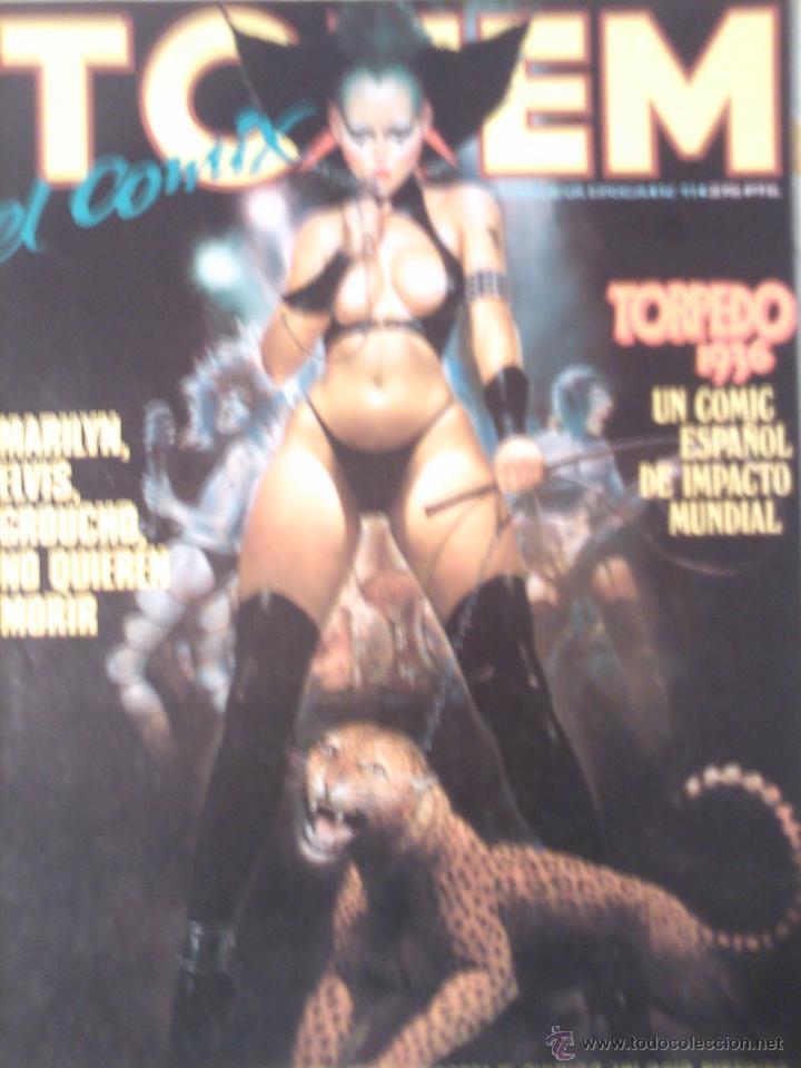 TOTEM EL COMIX NUEVA EPOCA Nº 1 AL 12 , SOLO OJEADOS PERFECTOS (Tebeos y Comics - Toutain - Otros)