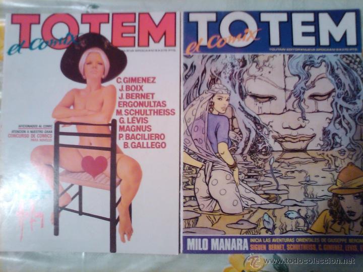 Cómics: TOTEM EL Comix nueva epoca nº 1 al 12 , solo ojeados perfectos - Foto 3 - 40545743