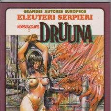 Cómics: MORBUS GRAVIS 2 DRUUNA- ELEUTERI SERPIERI - TOUTAIN 1988. Lote 40733136