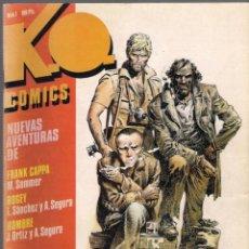 Cómics: K.O. COMICS. NÚMEROS 1,2,3 Y 4. COLECCIÓN COMPLETA. 1983 TOUTAIN.. Lote 40836308