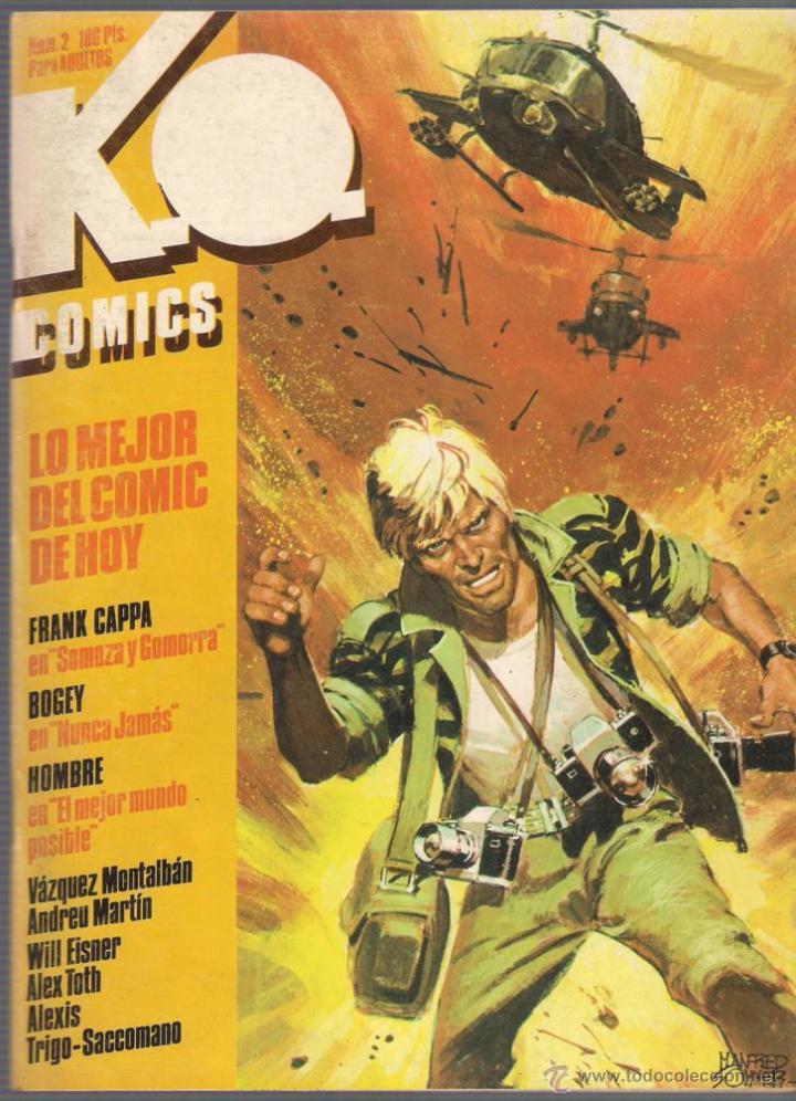 Cómics: K.O. Comics. Números 1,2,3 y 4. Colección completa. 1983 Toutain. - Foto 2 - 40836308
