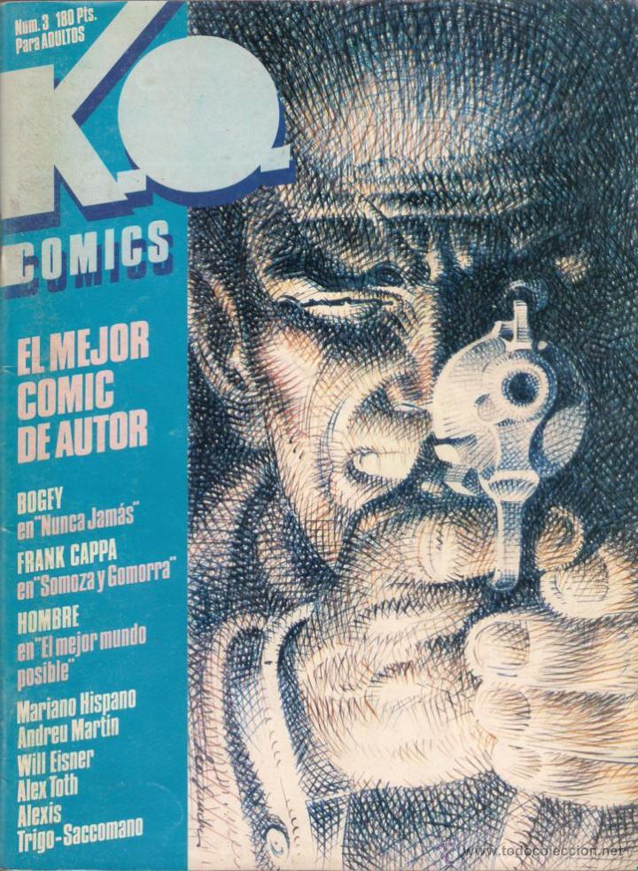 Cómics: K.O. Comics. Números 1,2,3 y 4. Colección completa. 1983 Toutain. - Foto 3 - 40836308