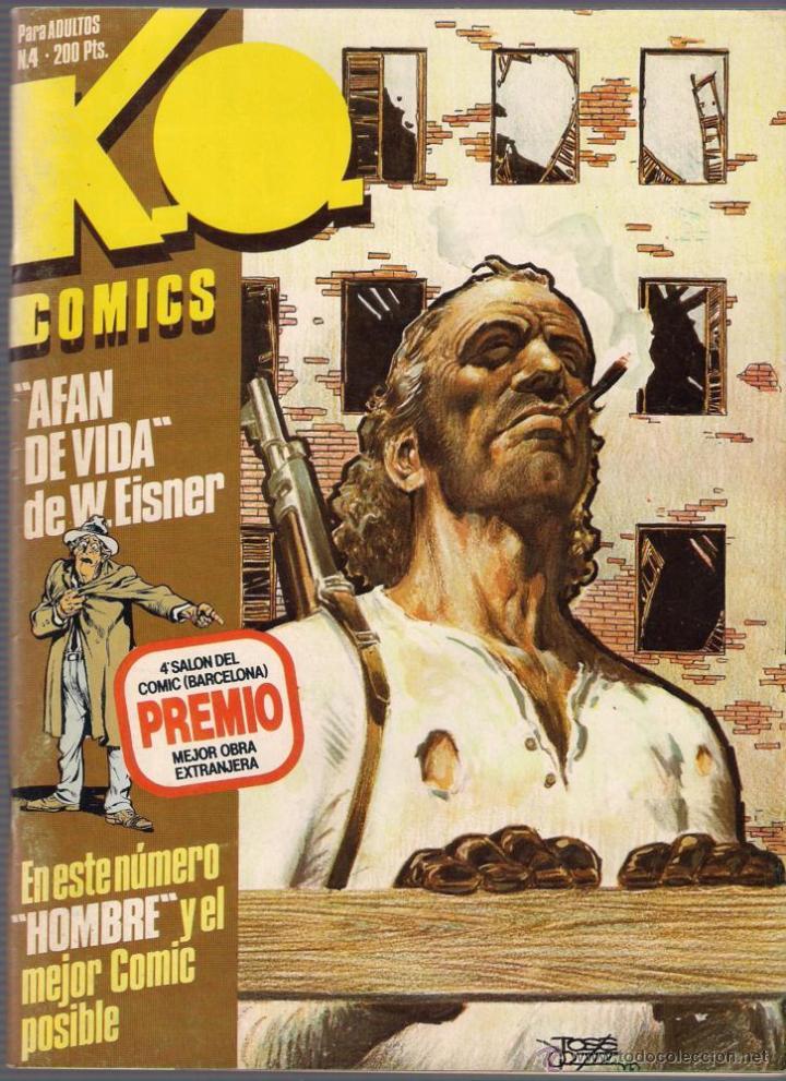 Cómics: K.O. Comics. Números 1,2,3 y 4. Colección completa. 1983 Toutain. - Foto 4 - 40836308