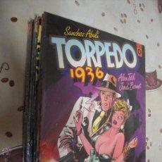 Cómics: TORPEDO COMPLETA 8 ALBUMES DE TOUTAIN. Lote 140480452