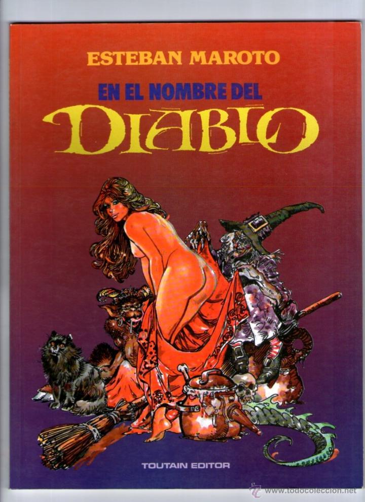 EN EL HOMBRE DEL DIABLO ** ESTEBAN MAROTO ** TOUTAIN (Tebeos y Comics - Toutain - Otros)