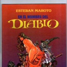 Cómics: EN EL HOMBRE DEL DIABLO ** ESTEBAN MAROTO ** TOUTAIN. Lote 41569208